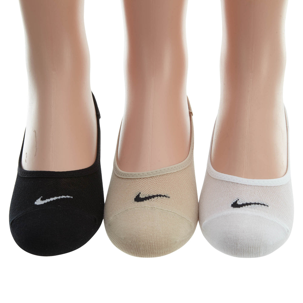 Nike 3 Pair Pack  Performance No‑show Liner Socks Womens Style : Sx4863
