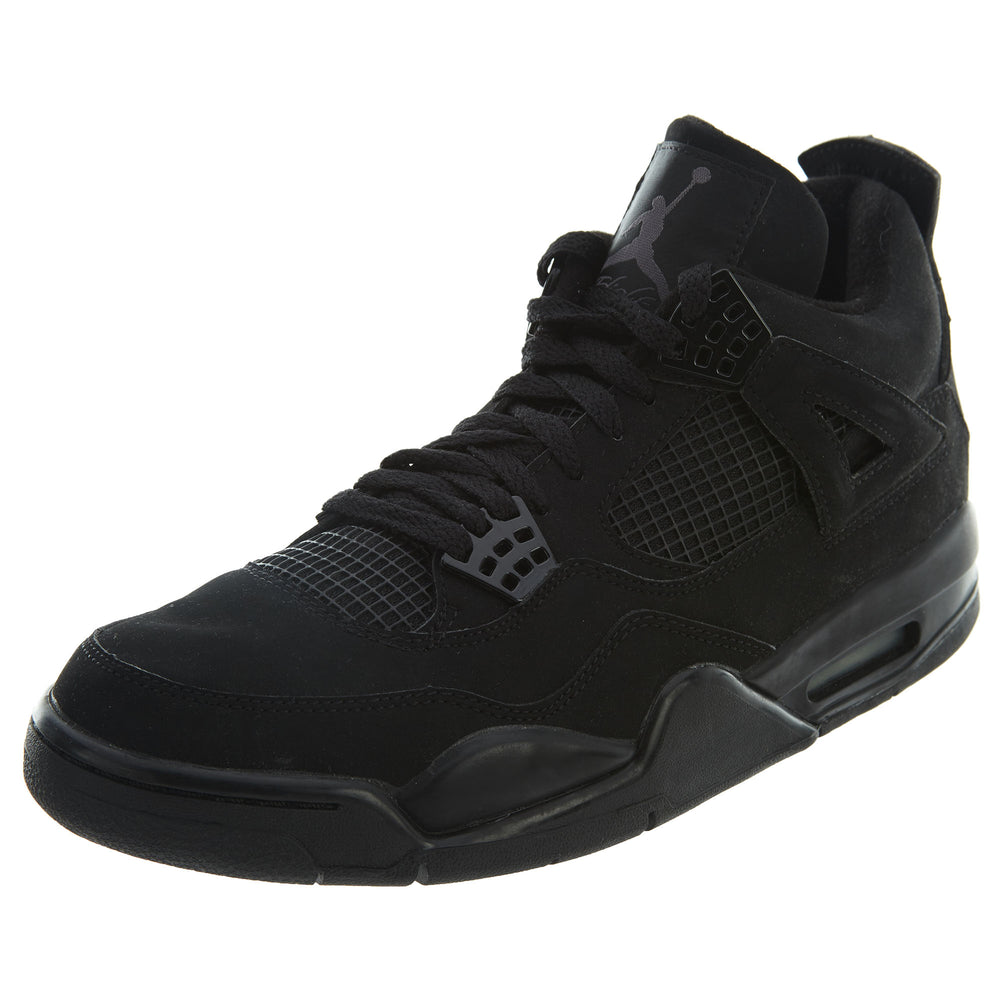 "Air Jordan 4 Retro ""Black Cat"" Mens Style : 308497"