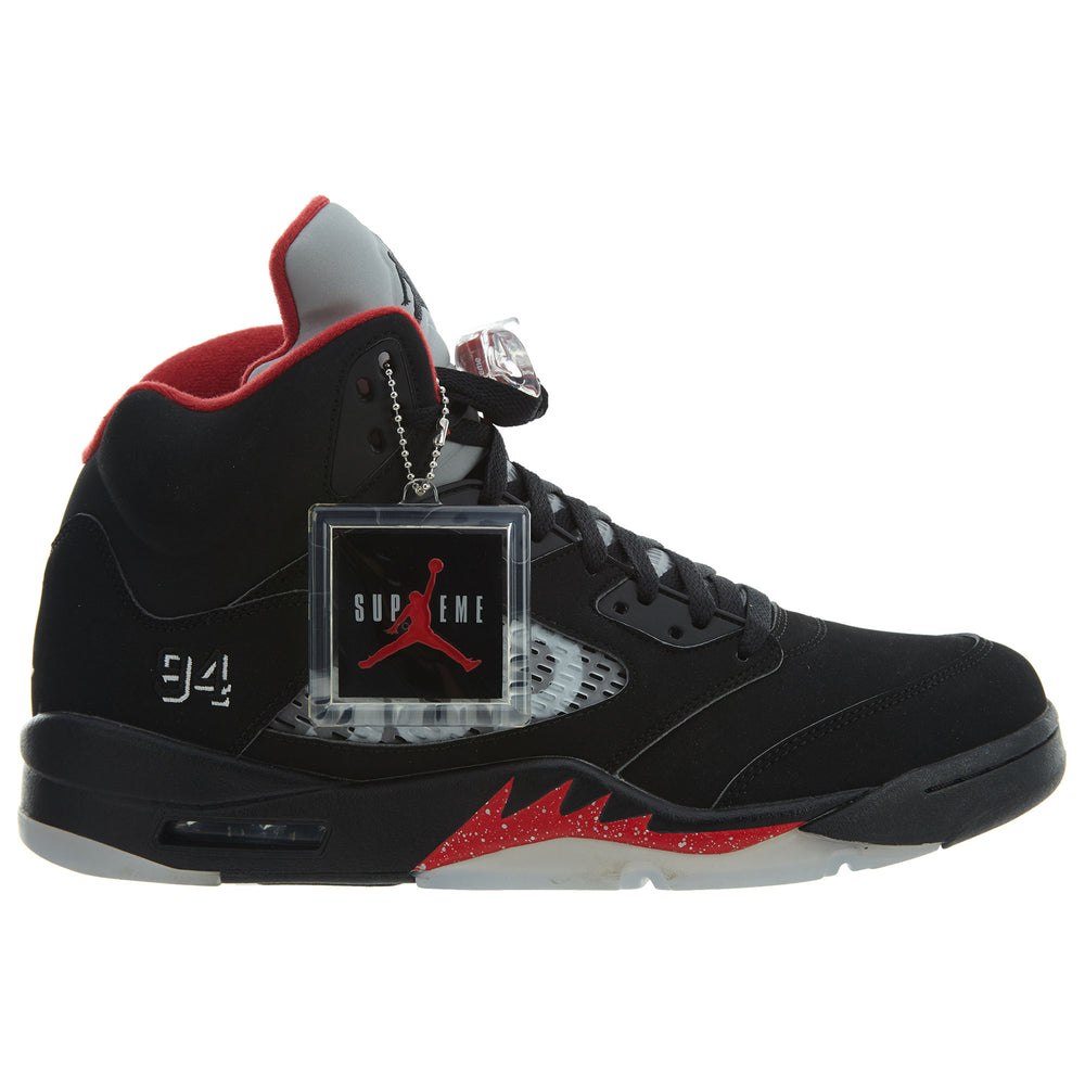 Air Jordan 5 Retro Supreme Mens Style : 824371