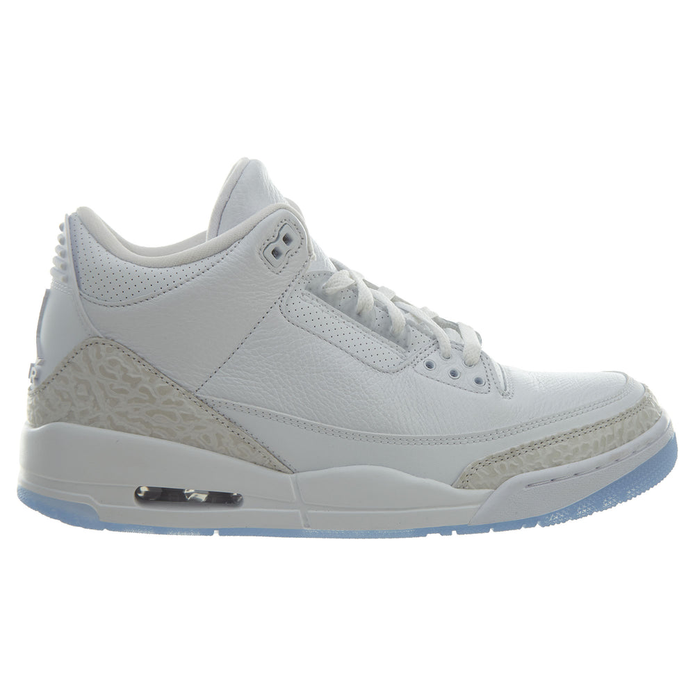 Air Jordan 3 Retro Pure White Mens Style : 136064