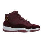 Jordan 11 Retro Heiress Night Maroon Big Kids Style : 852625