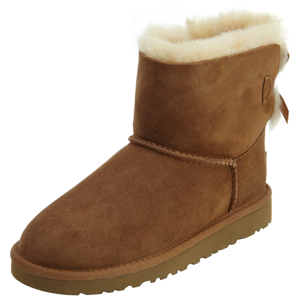 Ugg Mini Bailey Bow Boots Little Kids Style : 1005497k