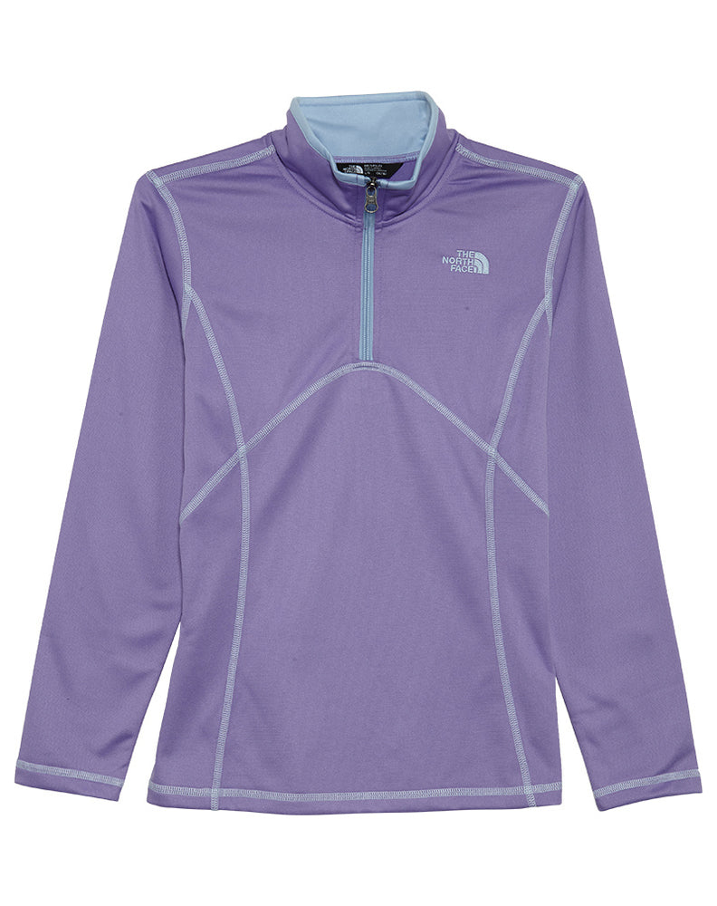 North Face Tech Glacier 1/4 Zip Little Kids Style : A34w3