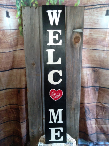 Interchangeable 4 ft. Welcome Porch Sign