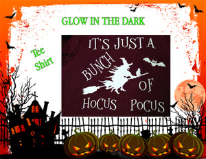 "Glow in the Dark "" Hocus Pocus"" Tee shirt"