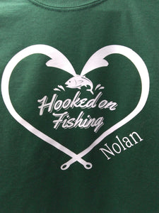 "Infant ""Hooked on Fishing"" Onsies"