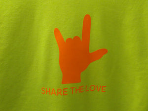 "Kid's ""Share the Love"" Tee Shirt or Hoody"