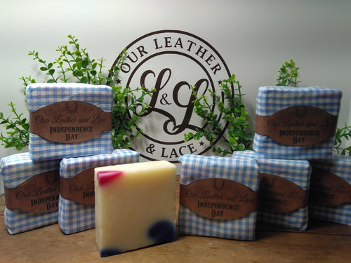 Independence Day - All Natural Handcrafted Soap