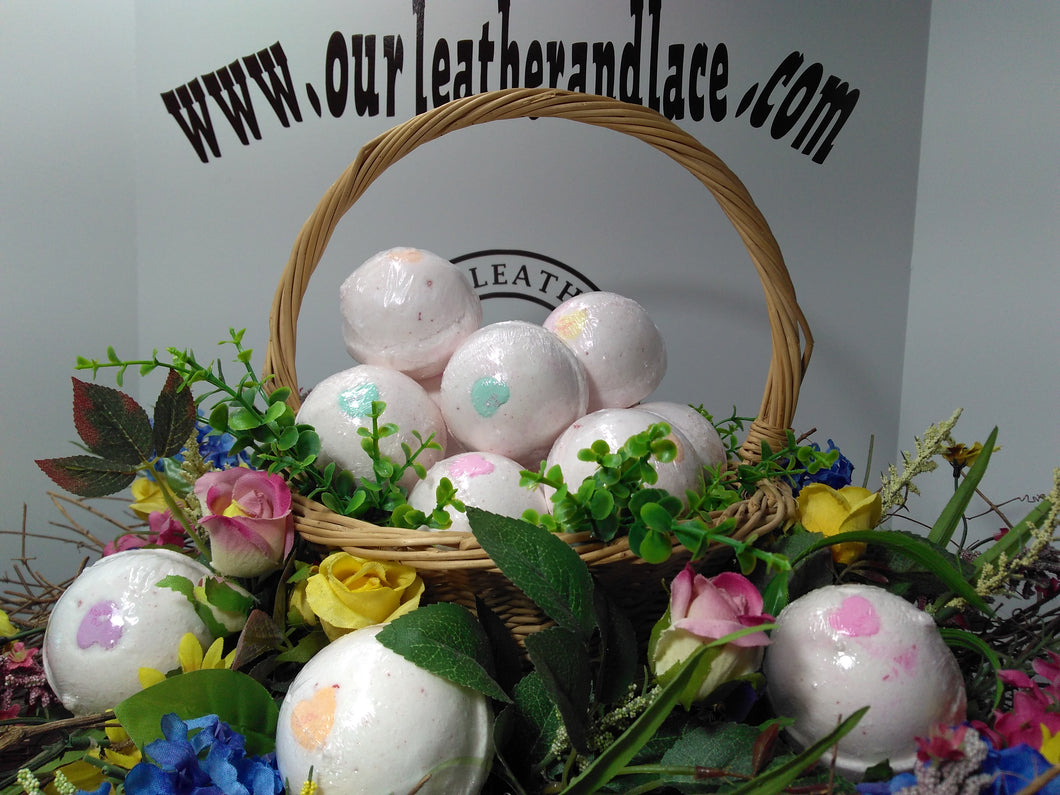 Our Hearts Belong to You - All Natural Bath Bombs