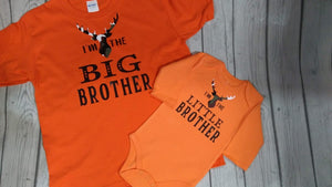 "Big / Little Tee and Onesie ""SET"""