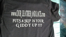 Load image into Gallery viewer, Our Leather and Lace  Supporter Tees and Hoodies