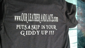 Our Leather and Lace  Supporter Tees and Hoodies
