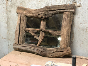 Fairy House Window Mirror