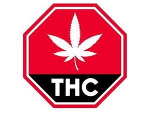 THC EDIBLE WARNING SIGN