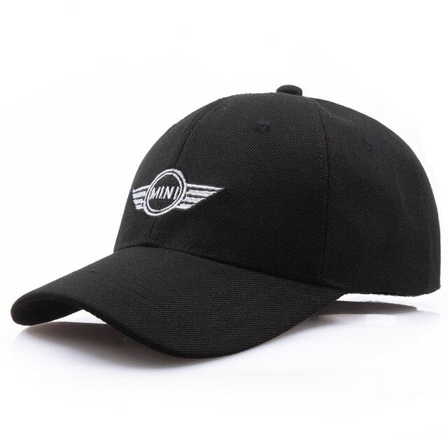Baseball Cap MINI logo Embroidery Casual Snapback Hat 2019 New Fashion HipHop High Quality Man Racing car Motorcycle Sport hat