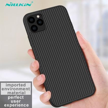 Case for iPhone 11 Pro Nillkin Synthetic Fiber Carbon PC Back Cover Ultrathin Slim Phone Case for iPhone 11 Pro Max 6.1/6.5 inch