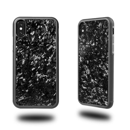 Anti-slip Case Cover Real Forged Carbon Fiber for iPhone X XS XR with Soft TPU for iPhone 7 8 7 Plus 8 Plus Xs max Case