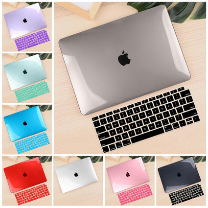 "For Macbook Air 11 12 13.3"" Crystal Clear Cover for Macbook Air Pro 13 15 16 Touch Bar/Touch ID 2019 2020 A2289 A1932 A2159"