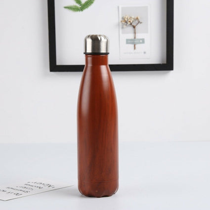 Texture color stainless steel thermos