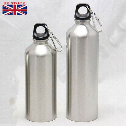 Stainless Steel Camping Water Flask Bottle Outdoor Cycling Bicycle Sports