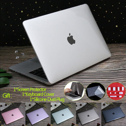 Crystal Matte Laptop Case For MacBook Pro 13 A2289 2020 Touch ID A1932 A2251 Cover For Macbook Air 13 A2179 Pro 16 12 15 11 case
