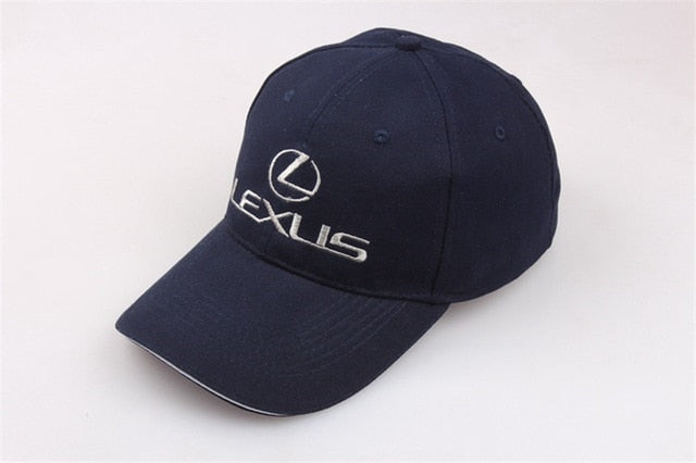 TOP Adjustable Car Brand Baseball Cap For Lexus Logo Women Hat Unisex  Embroidery Motocycle Racing Sports Baseball Cap Men