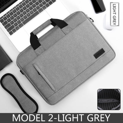Laptop bag Sleeve Case Protective Shoulder handBag Notebook Briefcases For 13 14 15.6 inch Macbook Air HP Lenovo Dell Top-Handle