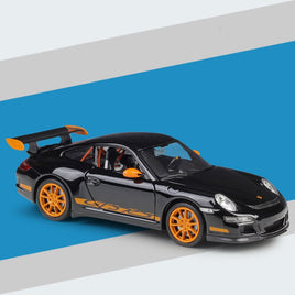 19.5CM 1:24 Scale Metal Alloy CARRERA S 911(997) GT3 RS Sports Car Model Diecast Vehicles Model Toys Gifts For Kids Children