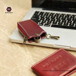 Llavero De Cuero Wallet Keychain Chaveiro Couro Key Chain Leather Cartera Llaves Keychain Wallet Car Key Case Porta Chaves