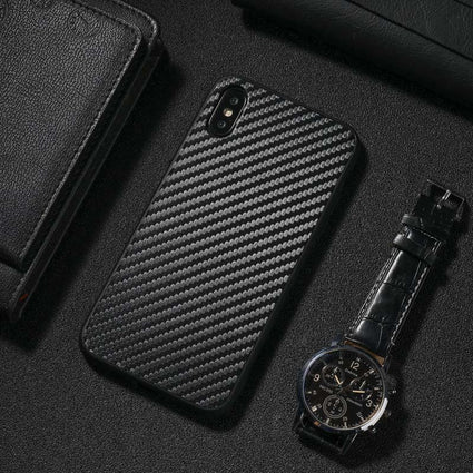 Carbon Fiber Case For Apple iPhone 11 Pro Xs Max XR X 8 7 6 6s Plus Anti Shock Silicone TPU Case For iPhone 11 Pro Max XsMax