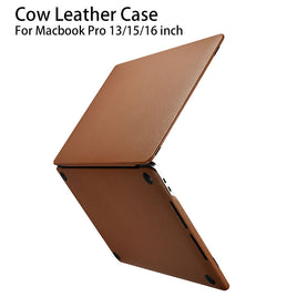 For Macbook Pro 13 Case 2020 A2289 A1989 A1708 A1706 Leather for Apple Macbook Pro 15 16 A1990 A1707 A2141 Business Laptop Cover