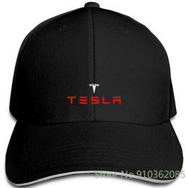 Tesla Electric Car Logo Harajuku Cool Homme Different Colours adjustable caps Baseball Cap Men Women