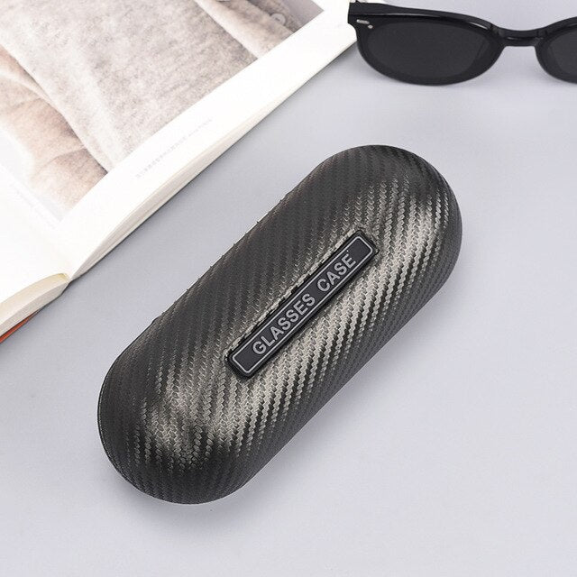 Carbon fiber glasses case