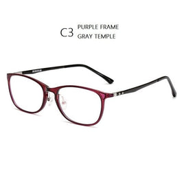 W-138 Carbon Fiber Frame Men Optical degree Myopia Prescription Glasses Brand Eyeglasses Frames Reading Glasses Women Eyewear