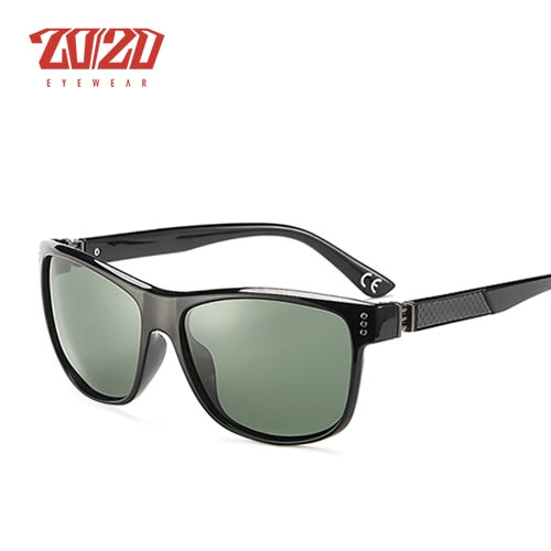 20/20 New Classic Polarized Sunglasses Men Driving Carbon Fiber Frame Eyewear Male Sun Glasses for men Oculos 4 Colors PL293