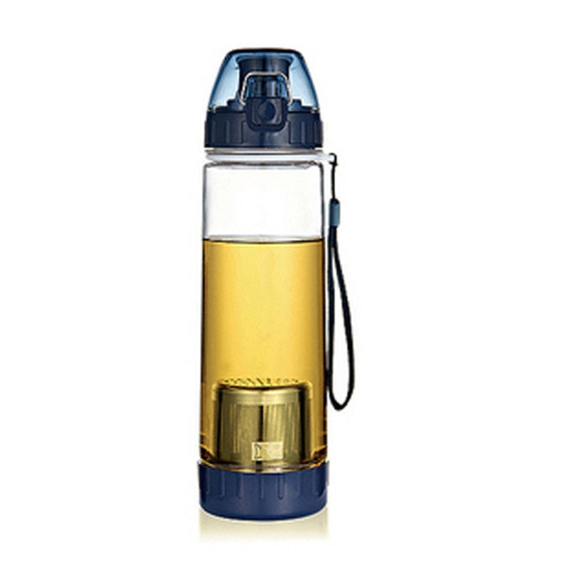 Elegant thermos with tea filter