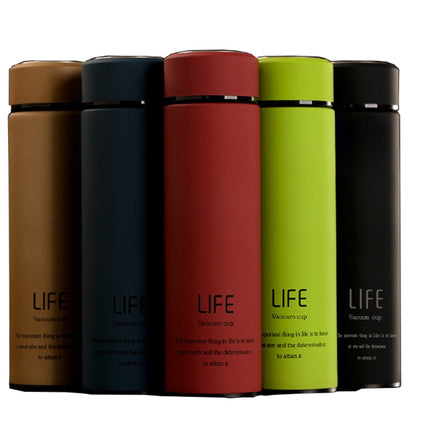 Life Stainless Steel Vacuum Cup Thermos Coffee Drink Water bottle High-grade Car Business Women Man Office People Insulation Cup