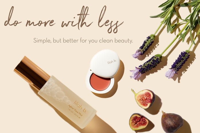 lilah b. Clean Beauty Homepage Banner