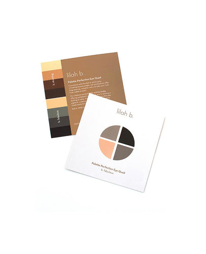 Palette Perfection Eye Quad Sampler – b.fabulous