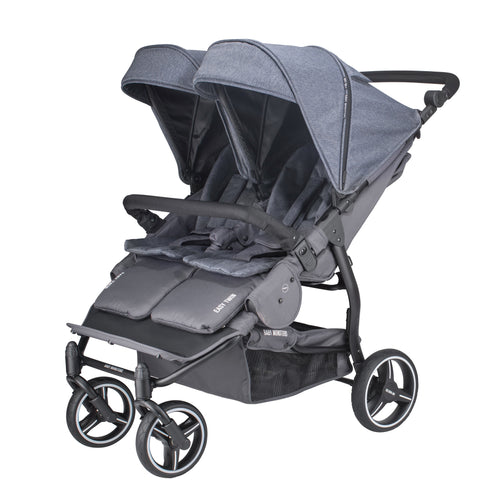 Baby Monsters Easy Twin 3S Light Complete Double Stroller - Jupiter Collection