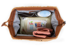 Load image into Gallery viewer, Childhome Baby Necessities Toiletry Bag Teddy Beige