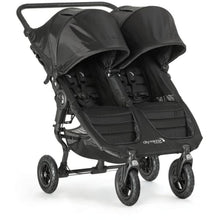 Load image into Gallery viewer, Baby Jogger City Mini GT Double Stroller - Black / Gray - Double Stroller