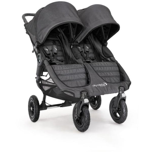 Baby Jogger City Mini GT Double Stroller - Charcoal - Double Stroller
