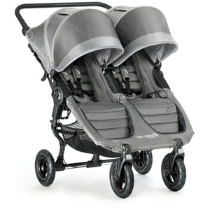 Baby Jogger City Mini GT Double Stroller - Steel Gray - Double Stroller