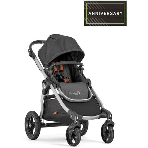 Baby Jogger City Select Double Stroller - Anniversary (Belly Bar Included) - Double Stroller