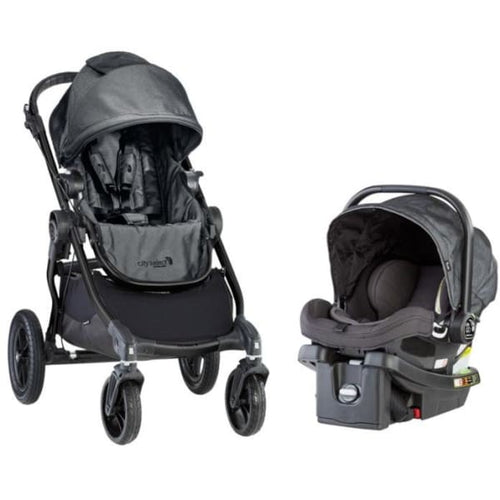 Baby Jogger City Select Travel System - Charcoal - Car Seat Stroller