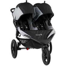Load image into Gallery viewer, Baby Jogger Summit X3 Double Stroller - Black / Gray - Jogging Stroller