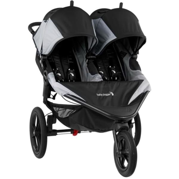 Baby Jogger Summit X3 Double Stroller - Black / Gray - Jogging Stroller