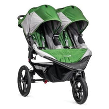 Load image into Gallery viewer, Baby Jogger Summit X3 Double Stroller - Green / Gray - Jogging Stroller