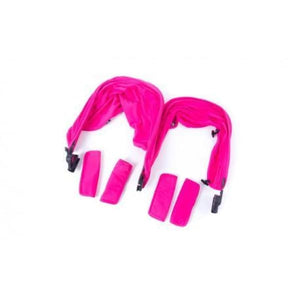 Baby Monsters Easy Twin 2.0 Color Accessories Pack - includes Canopies Liners Shoulder Pads - Pink - Stroller Sun Shade Canopy